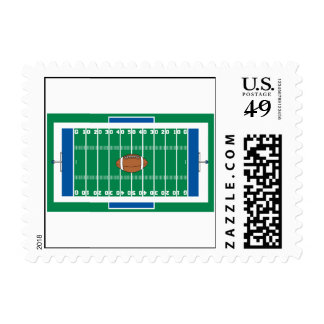 grid iron football field graphic stamps