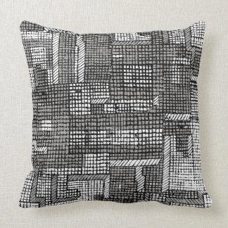 Grid Lock 3 Throw Pillow
