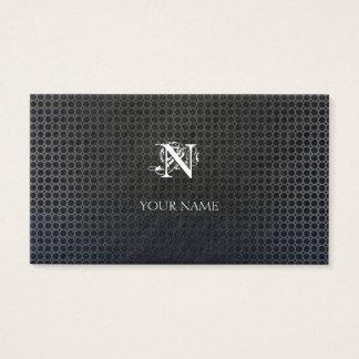 Grid Metal Business Card