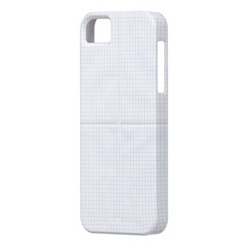 Grid Notebook iPhone 5 Covers