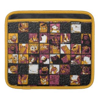 Grid of Cats iPad Horizontal Sleeve