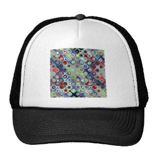 Grid of Circular Shapes Trucker Hat