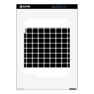 Grid Optical Illusion Design iPad 2 Decal