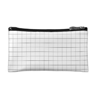 Grid Pattern Aesthetic Pouch