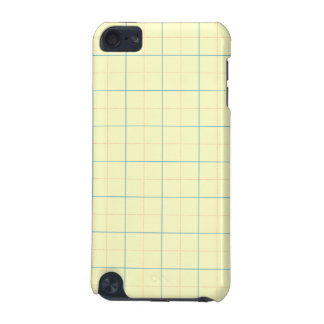grid pattern blue line red dots iPod touch (5th generation) case