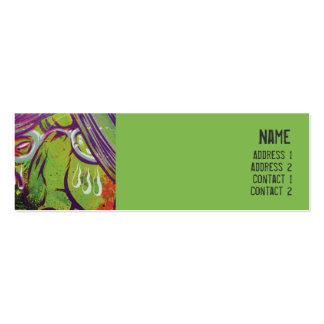 Grid - Skinny Mini Business Card