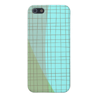 Grid & Swoosh Casual iPhone SE/5/5s Cover