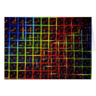 Grid texture cards