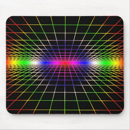 Grid To Eternity Mouse Pad