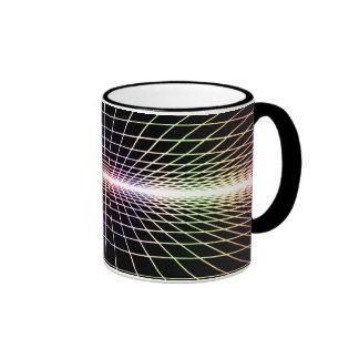 Grid To Eternity Ringer Mug