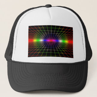 Grid To Eternity Trucker Hat