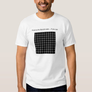 Grid with phantom dots T-Shirt