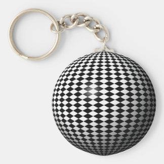 grid world key chain