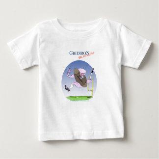 Gridiron - born bred proud, tony fernandes baby T-Shirt