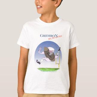 Gridiron - born bred proud, tony fernandes T-Shirt
