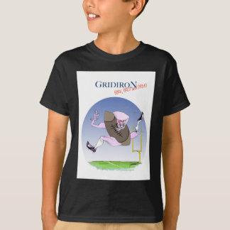 Gridiron born bred proud, tony fernandes T-Shirt