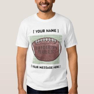 Gridiron Football Customizable T-Shirt