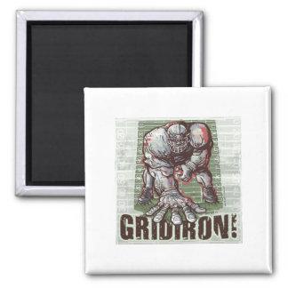 Gridiron Football Magnet