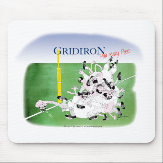 Gridiron hail mary pass, tony fernandes mouse pad