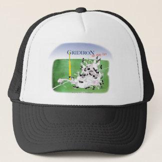 Gridiron -'hail mary pass', tony fernandes trucker hat