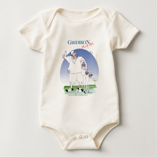Gridiron - hall of fame, tony fernandes baby bodysuit