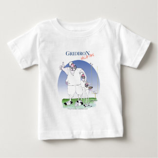 Gridiron - hall of fame, tony fernandes baby T-Shirt