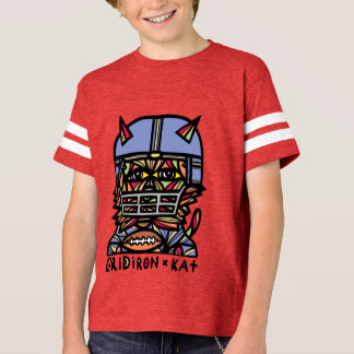 """GridIron Kat"" Boys' Sport Tshirt"