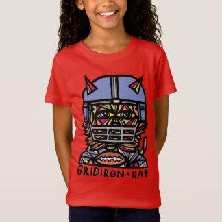 """GridIron Kat"" Girls' T-Shirt"