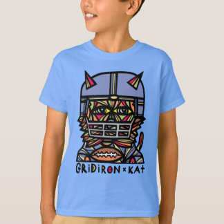 """GridIron Kat"" Kids' TAGLESS® T-Shirt"
