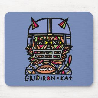 """GridIron Kat"" Mousepad"
