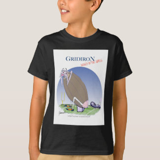 Gridiron kicked in the grass, tony fernandes T-Shirt