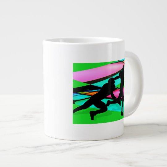 Gridiron Lights Football Giant Coffee Mug