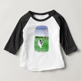 Gridiron - stay focused, tony fernandes baby T-Shirt