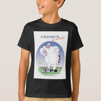Gridiron - take no prisoners, tony fernandes T-Shirt