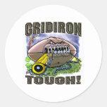 Gridiron Tough! Sticker
