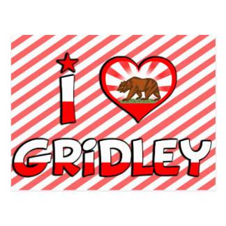 Gridley CA Post Cards