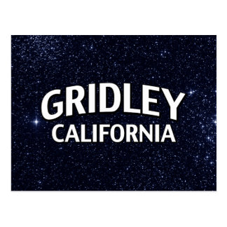 Gridley California Postcard