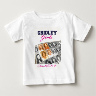 Gridley Girls Book Cover Baby T-Shirt