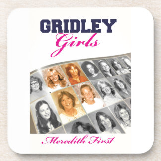 Gridley Girls Book Cover Drink Coaster