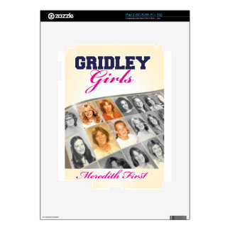 Gridley Girls Book Cover Decal For The iPad 2