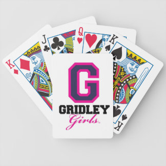 GridleyGirls Bicycle Playing Cards