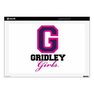 """GridleyGirls Skins For 17"""" Laptops"""