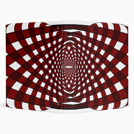 Gridlock (Red) Binder