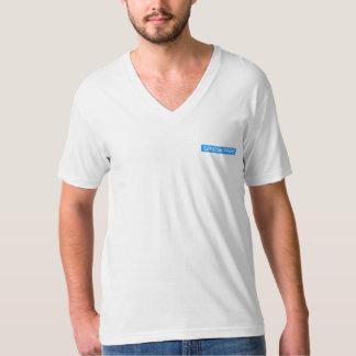 GRIDSKIPPER'S Men's American Apparel Fine Jersey V T-Shirt