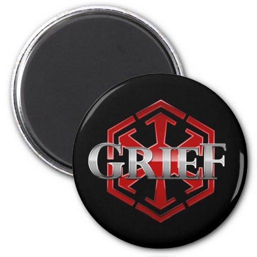 Grief SWTOR Guild Gear 2 Inch Round Magnet