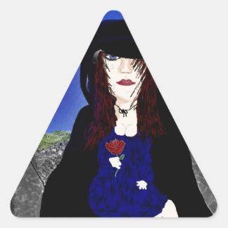 Grief Triangle Sticker