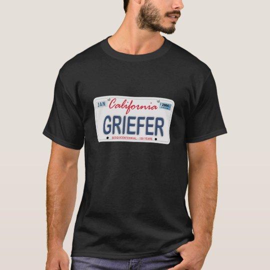 GRIEFER License Plate T-Shirt