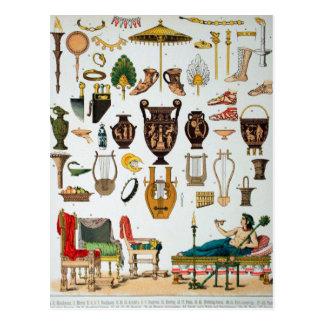 Griego clásico tarjetas postales