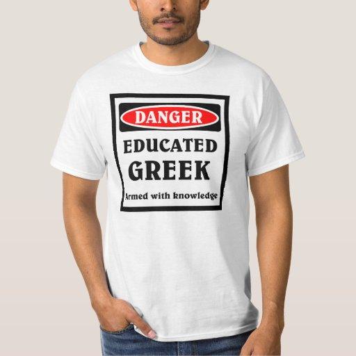 Griego educado remera