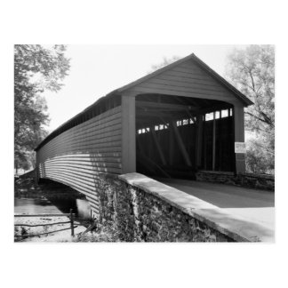 Griesemer Mill Covered Bridge Postcard